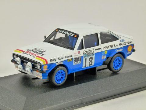 FORD ESCORT Mk2 RS1800 Lombard RAC Rally 1979 1/43 scale model CORGI Vanguards