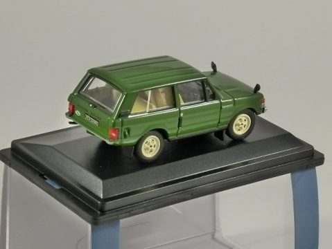 RANGE ROVER Classic in Lincoln Green 1/76 scale model OXFORD DIECAST