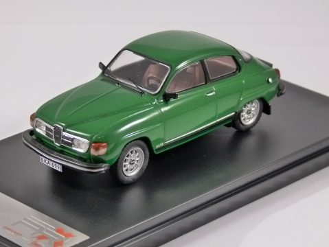1980 SAAB 96 V4 in Green 1/43 scale model by PREMIUM X