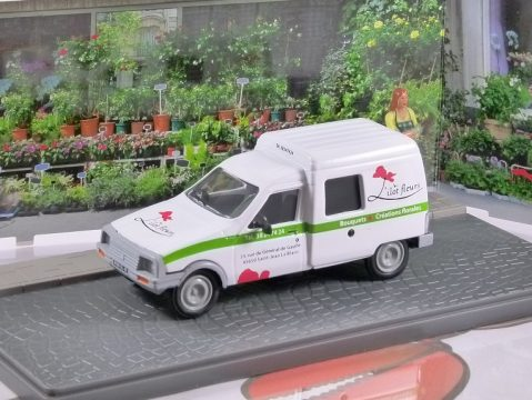CITROEN C15 Van Fleuriste / Florist - 1/43 scale model Atlas Editions