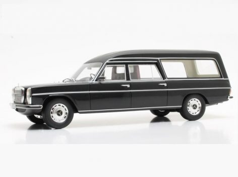 1972 MERCEDES BENZ V114 Pullman Hearse 1/18 scale model by Cult Scale Models