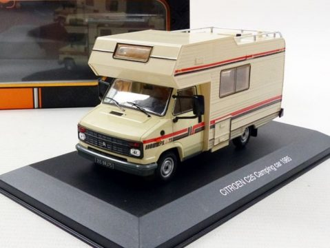 1985 CITROEN C25 CAMPING CAR 1/43 scale model by IXO