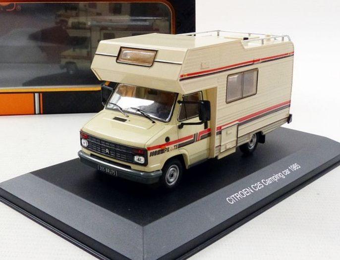 1985 CITROEN C25 CAMPING CAR 1/43 scale model by IXO