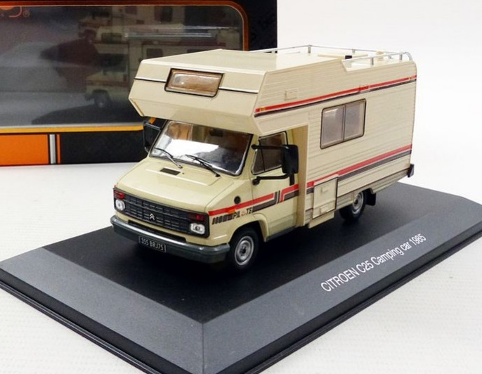 1985 citroen c35 camping car 1 43 scale model by ixo. Black Bedroom Furniture Sets. Home Design Ideas