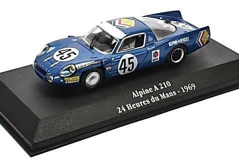 1969 ALPINE A210 Le Mans 24 Hrs - 1/43 scale model Atlas Editions