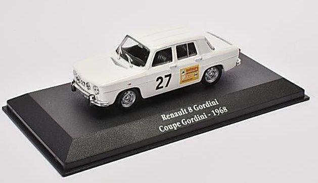 1968 RENAULT 8 GORDINI - Coupe Gordini - 1/43 scale model Atlas Editions