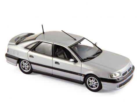 1993 RENAULT SAFRANE BITURBO in Silver 1/43 scale model by Norev