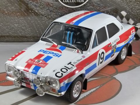 FORD ESCORT RS1600 Mk1 Monte Carlo 1972 1/18 scale model by Triple 9 Collection
