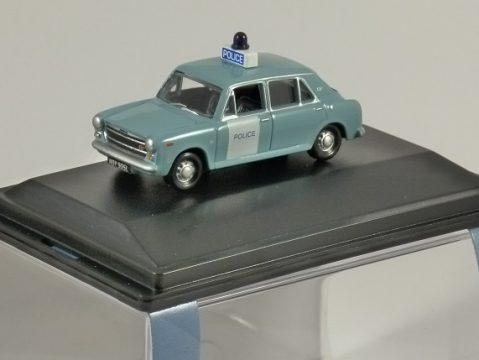 AUSTIN 1300 Metropolitan Police 1/76 scale model OXFORD DIECAST