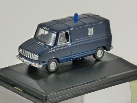 SHERPA Van - Metropolitan Police 1/76 scale model OXFORD DIECAST