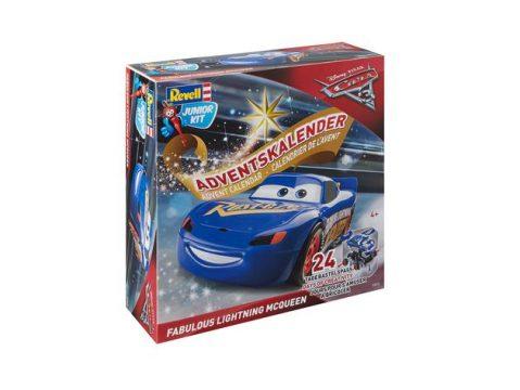 LIGHTNING MCQUEEN - CARS 3 MOVIE Christmas Advent Calendar by REVELL
