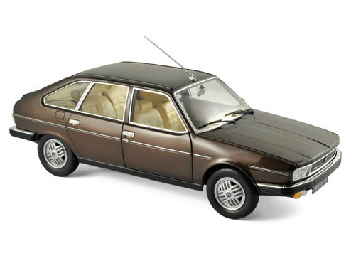 1981 RENAULT 30 TX in Bronze Brown Metallic - 1/18 scale model by Norev
