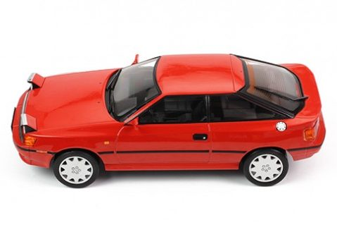 1990 TOYOTA CELICA ST165 in Red - 1/18 scale model by IXO