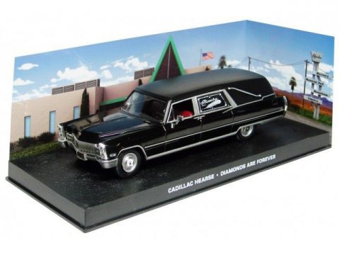 CADILLAC HEARSE - Diamonds Are Forever - 1/43 scale model James Bond