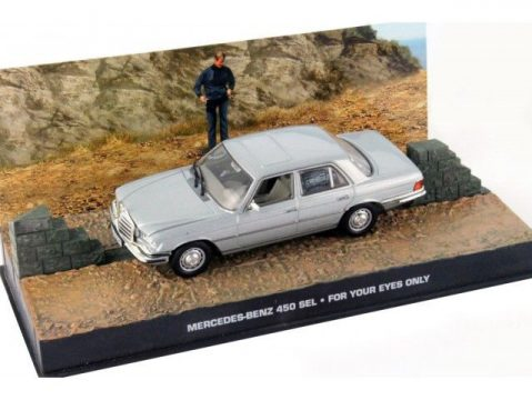 MERCEDES BENZ 450 SEL- For Your Eyes Only - 1/43 scale model James Bond