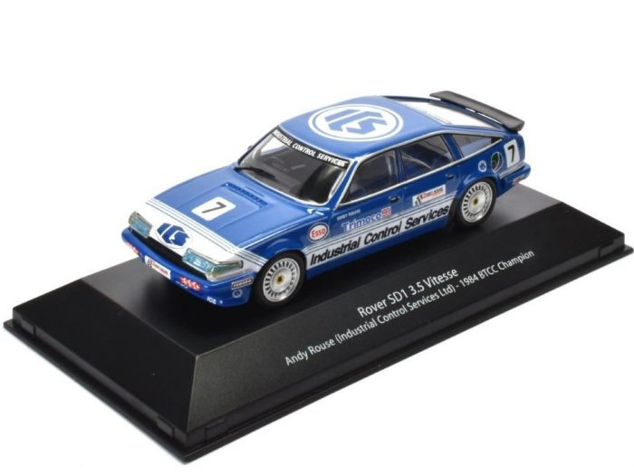 ROVER SD1 3500 VITESSE BTCC 1984 - Andy Rouse - 1/43 scale model - Atlas Editions