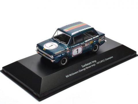 SUNBEAM IMP - Bill McGovern BTCC 1972 - 1/43 scale model - Atlas Editions