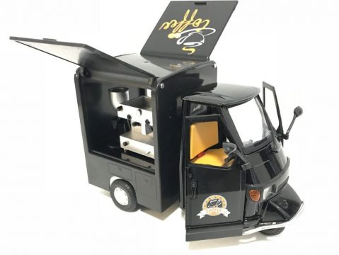 PIAGGIO APE Coffee Van - 1/18 scale model by New Ray