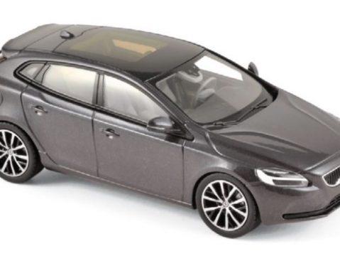 2016 VOLVO V40 in Osmium Grey 1/43 scale model by Norev