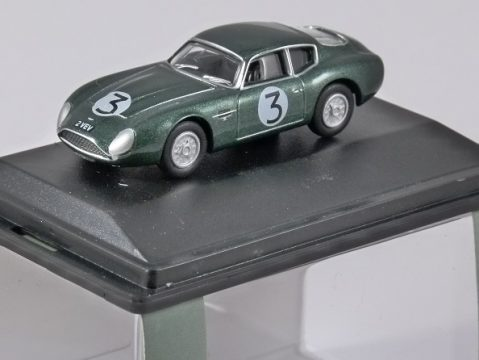 ASTON MARTIN DB4 GT ZAGATO Jim Clark 1/76 scale model OXFORD DIECAST