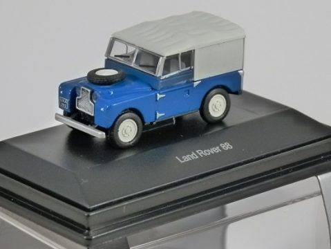 Schuco LAND ROVER 88 in Blue / White 1/87 scale model