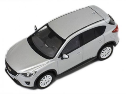 2012 MAZDA CX-5 in Silver 1/43 scale model by Premium X