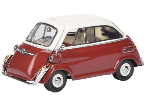 BMW 600 in Red / White 1/43 scale model by SCHUCO