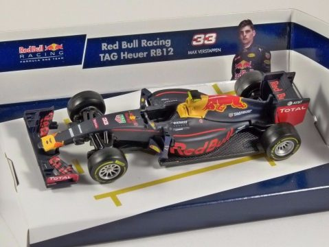 RED BULL RB12 F1 2016 Max Verstappen - 1/43 scale model by Burago