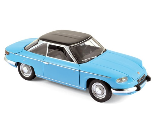 1964 PANHARD 24 CT in Blue 1/18 scale model by NOREV