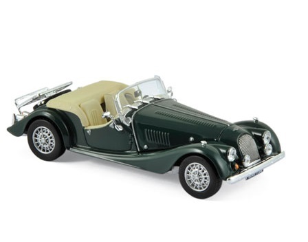 1980 MORGAN PLUS 8 in British Racing Green 1/43 scale model by Norev