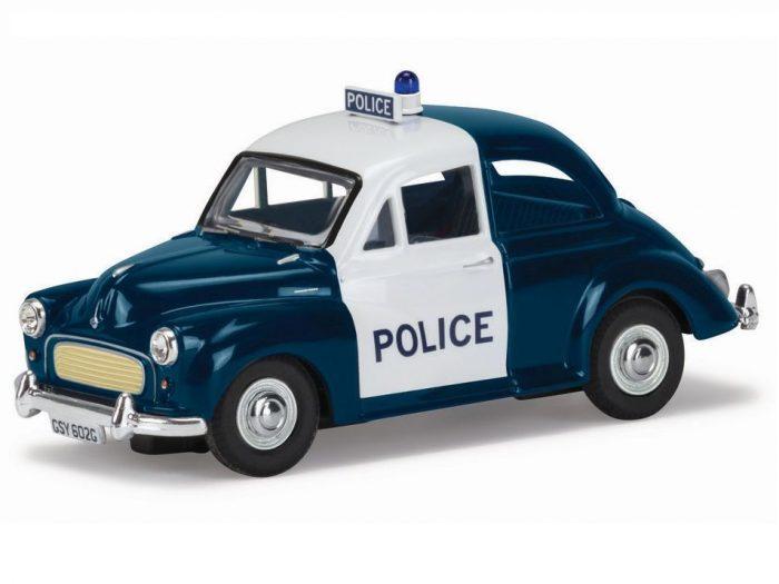 MORRIS MINOR City of Edinburgh Police 1/43 scale model by Corgi