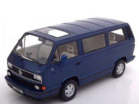VOLKSWAGEN T3 / T25 Bus Last Edition in Blue 1/18 scale model by KK Scale Models