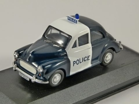 MORRIS MINOR 1000 Police 1/43 scale model by Corgi