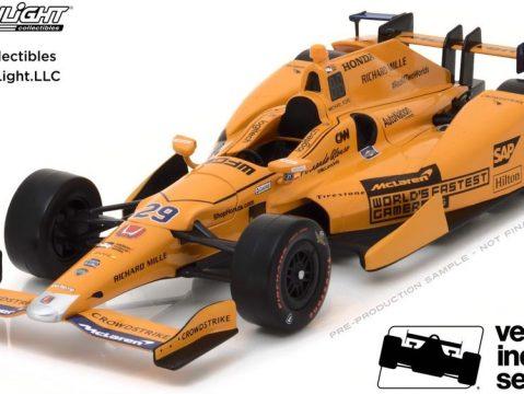 2017 MCLAREN HONDA ANDRETTI Indy Car Fernando Alonso 1/64 scale model GREENLIGHT