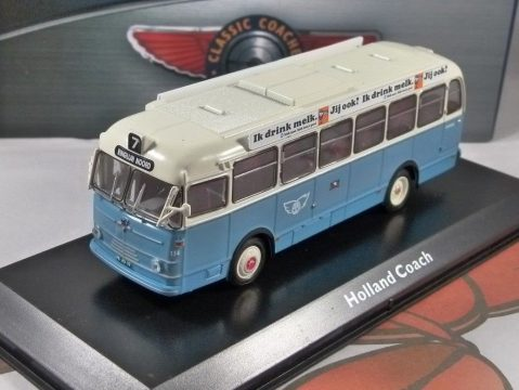 LEYLAND / VERHEUL HOLLAND Coach 1/72 scale model Collection - Atlas Editions