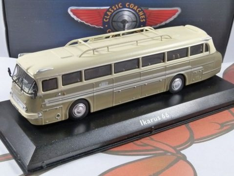 IKARUS 66 Coach 1/72 scale model Coach Collection - Atlas Editions