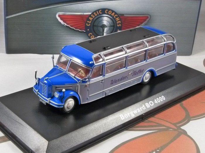 BORGWARD BO 4000 1/72 scale model Coach Collection - Atlas Editions