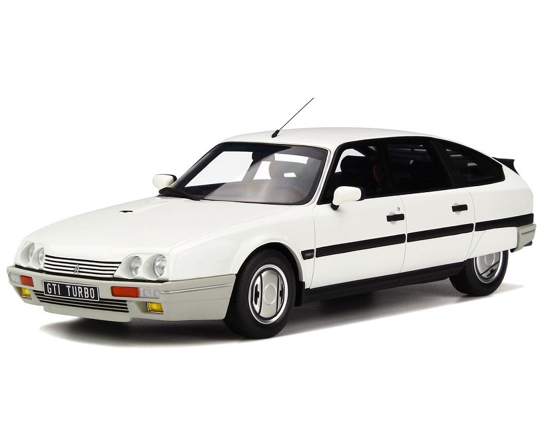 citroen cx 2 5 gti turbo 2 in white 1 18 scale model otto ottomobile. Black Bedroom Furniture Sets. Home Design Ideas