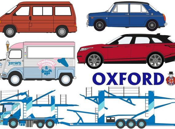 Oxford Diecast - 2018 New Announcements