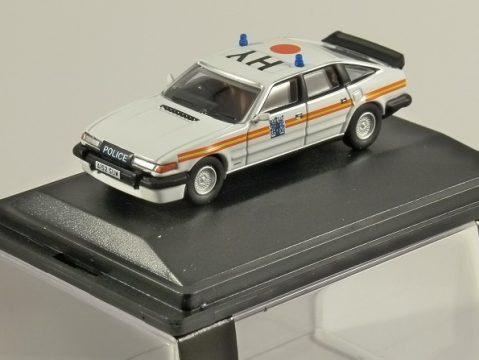 ROVER SD1 3500 VITESSE - Metropolitan Police 1/76 scale model OXFORD DIECAST