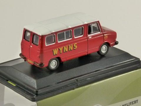 SHERPA Minibus - Wynns 1/76 scale model OXFORD DIECAST