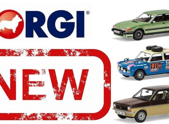 Corgi Vanguards 2018 New Releases