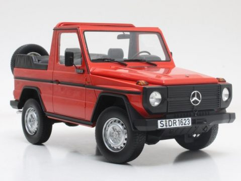 1979 MERCEDES W460 G-Class Cabrio 1/18 scale resin model Cult Scale Models