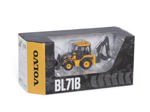 Volvo BL71B Backhoe Loader 1/50 scale model by Motorart 300034