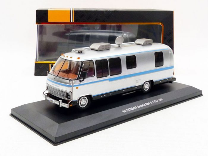 1981 AIRSTREAM EXCELLA Camper 1/43 scale model by IXO