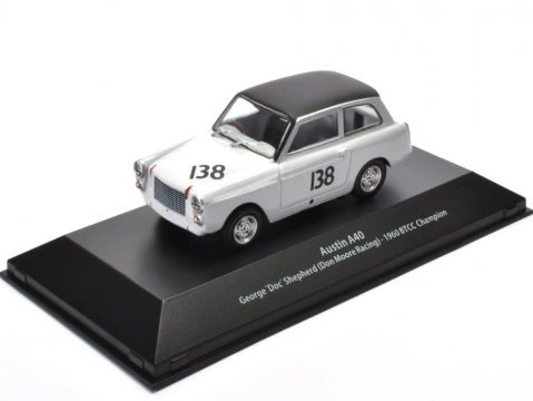 AUSTIN A40 - BTCC 1960 - 1/43 scale partwork model Atlas Editions