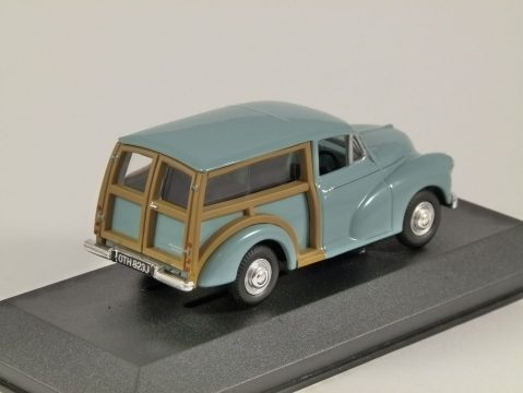 MORRIS MINOR TRAVELLER in Bermuda Blue 1/43 scale model by Corgi