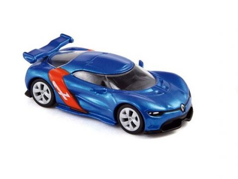 ALPINE A110-50 scale model by Norev