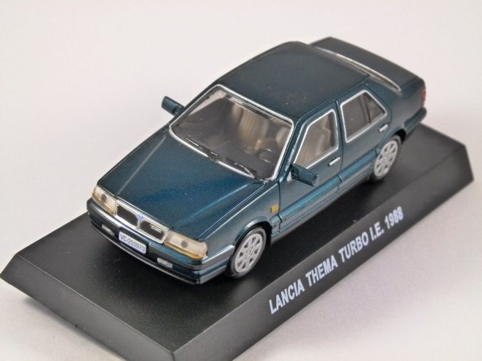 1988 LANCIA THEMA TURBO I.E. in Green 1/43 scale model