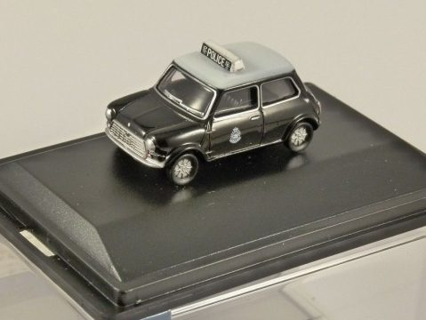 MINI COOPER S MkIII - Hong Kong Police 1/76 scale model OXFORD DIECAST
